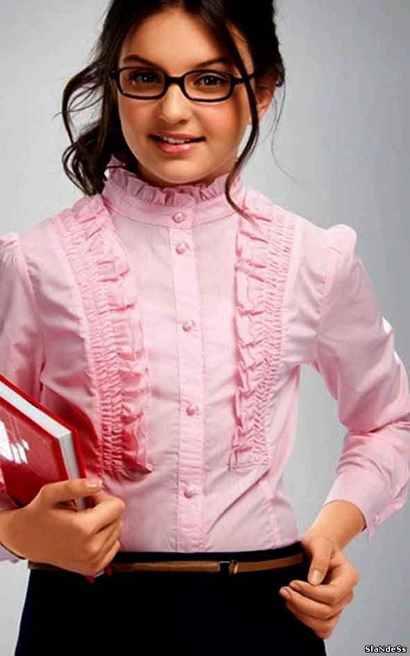 Блузку Школьную Купить